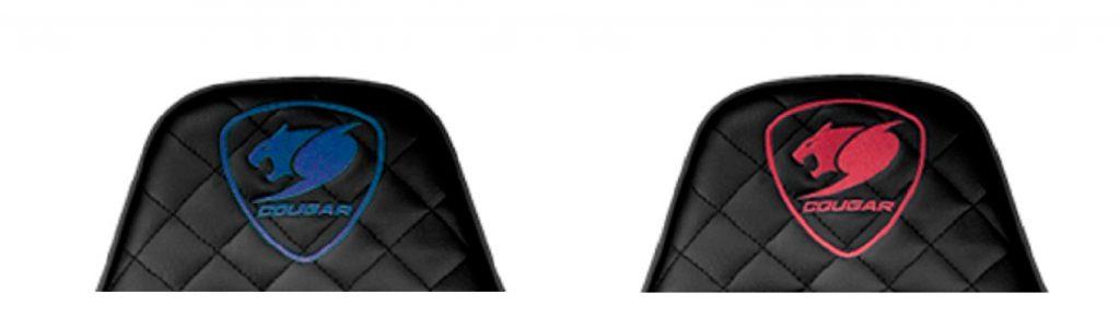 株式会社テラ BIOHAZARD×COUGARゲーミングチェア COUGARロゴデザイン